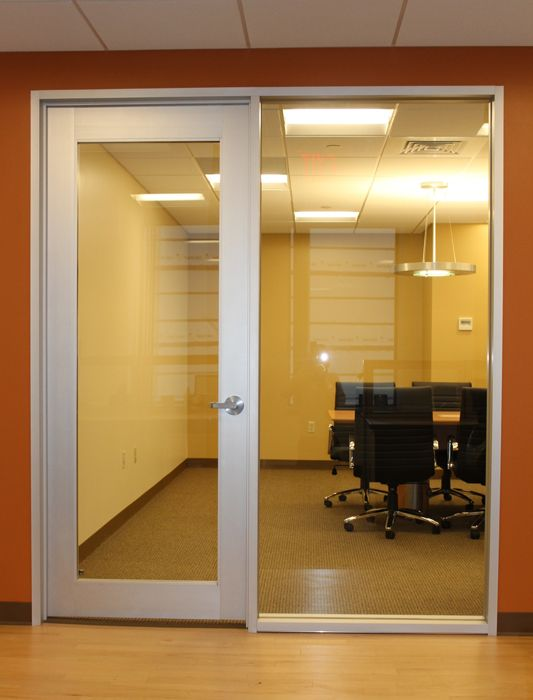 Office door with side window google search office for Office front door design