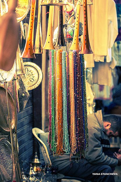 The Souk in Marrakesh by Yana Stancheva, via Flickr