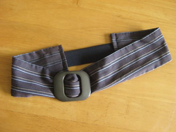 Vintage style upcycled elasticated hairband with by LumeLapin, £4.50