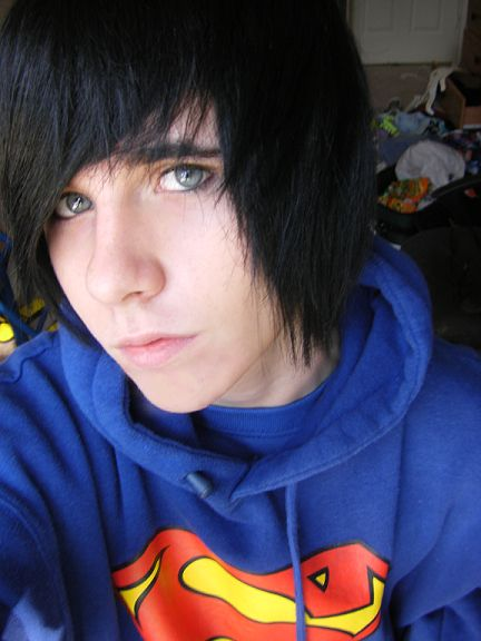 how to look like a cute emo boy