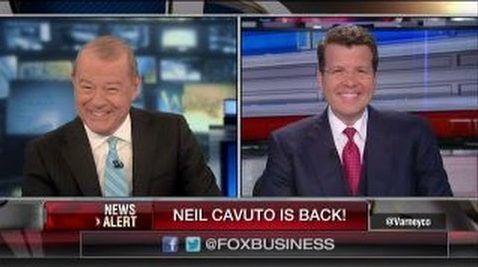 Stuart Varney's Hilarious Welcome Back to Neil Cavuto [Video]