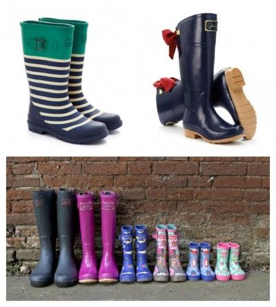 Giveaway: Wellies for the Whole Family!