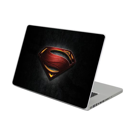 11'' MacBook Air skins - Man Of Steel | Diabloskinz are adhesive vinyl protective decals for personalising your device, stand out from the crowd, 100's of designs, great price