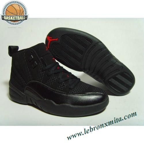 630690-211 Air Jordan 12 All Black