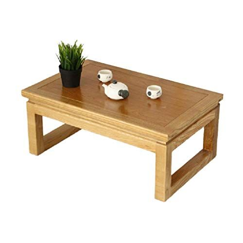 Home Warehouse Solid Wood Low Table Multifunction Household Small