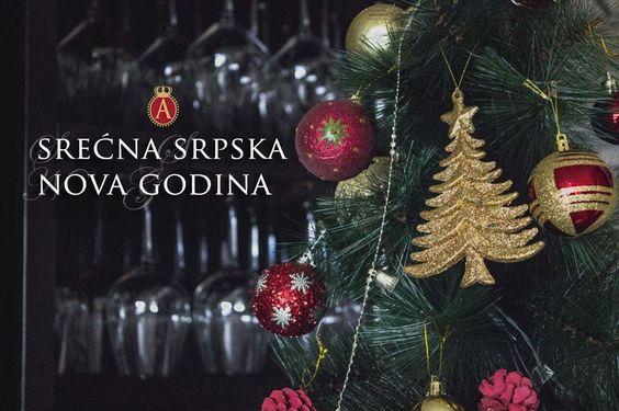 Srena Srpska Nova godina! Happy Serbian New Year! #Serbia #Srbija #vino #vinarija #Aleksandrovic #winery #travel