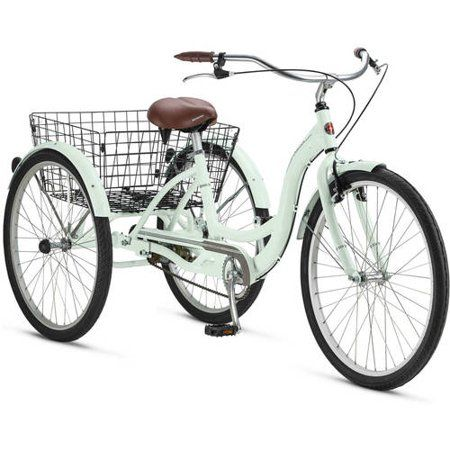 "26"" Schwinn Meridian Adult Tricycle, Cherry - Walmart.com"
