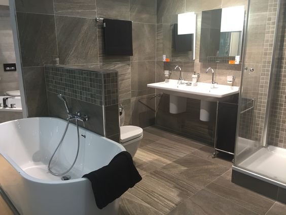 badkamer hoekrek with badkamer hoekrek amazing push un