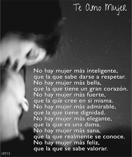 Te Amo Mujer: