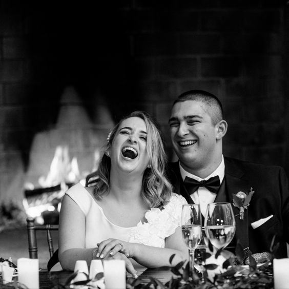 Funny marriage couple