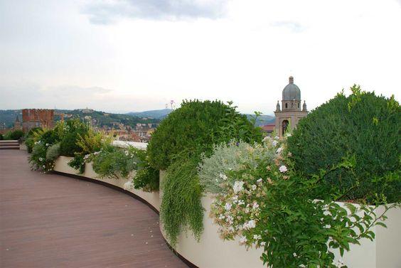 Terrazzi e giardini pensili | Progettazione giardini | Vivai San Benedetto