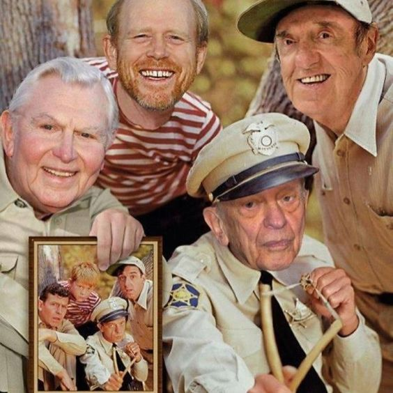 Andy Griffith, Don Knotts, Ron Howard, Jim Nabors