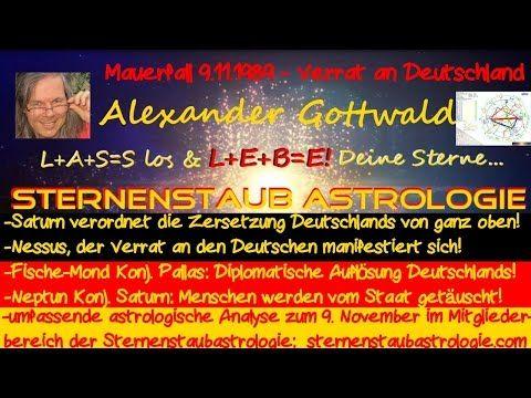 Horoskop – Was geschah astrologisch gesehen beim Mauerfall am 9.11.1989? http://sternenstaubastrologie.com/horoskop-mauerfall9-11-1989