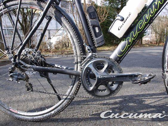 "Shimano Ultegra 2x11 (6800) Groupset at our Trekking Bike Model ... we call that ""Urban Bike"""