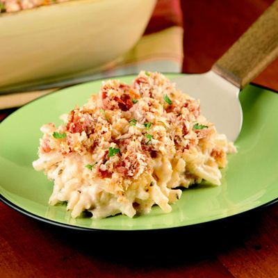 Party Potatoes Italiano are a breeze to make and the perfect entrée  or side dish for large gatherings. Dinner guests will be delightfully surprised by the flavorful Italian flair and delicious creamy taste.