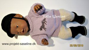 Baby born opskrifter. 43 cm. Ridetøj til dukken. sweater, bukser, ridestøvler og ridehjelm.