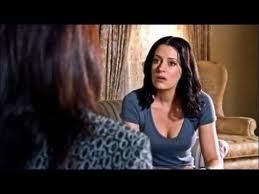 Prentiss talks to Jane Howard (Guest Star: Stephanie Venditto) about her husband, who is killing his patients; from S3E3, Scared To Death.