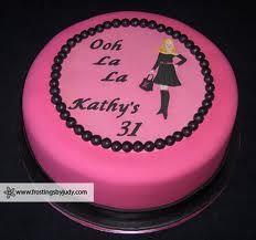 Ooh La La cake idea!