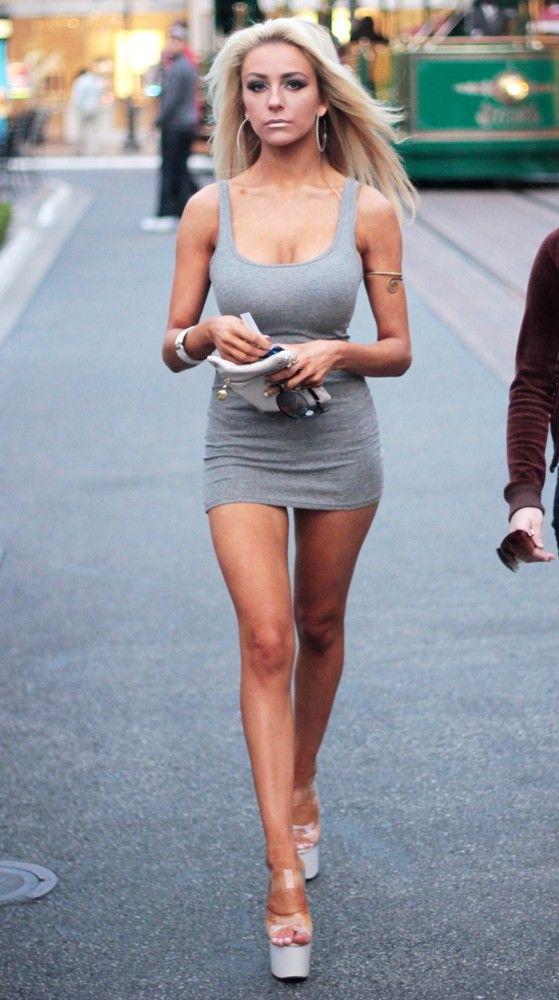 Long legs in short dresses - Best dress image
