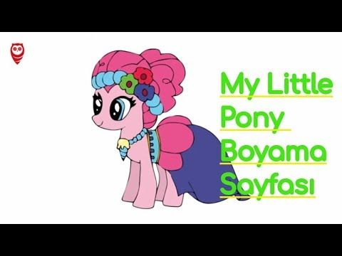 My Little Pony Pinkie Pie Boyama Ve Cizim Sayfasi Cocuklar Icin