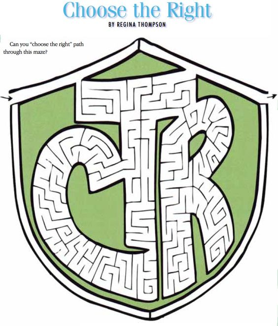 Crafty Go Lucky LDS coloring pages activities general