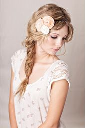 love the braid and the flower headband!!