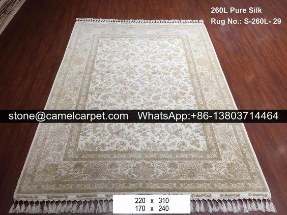 260L silk on silk rug #puresilkrug#puresilkcarpet#handmadecarpet#handmaderug