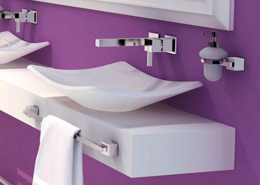 Lavabos Para Baño Helvex:de la cerámica Helvex ¡único! Trazzo LV-5  Lavabo cuadrado de