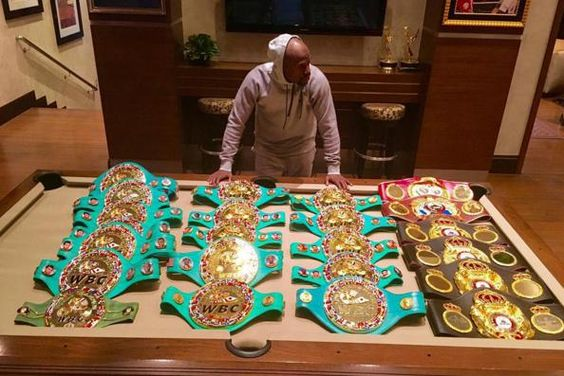Humility has never been  Floyd Mayweather Jr. 's thing, but anyone in opposition might just need to take the loss on this one...