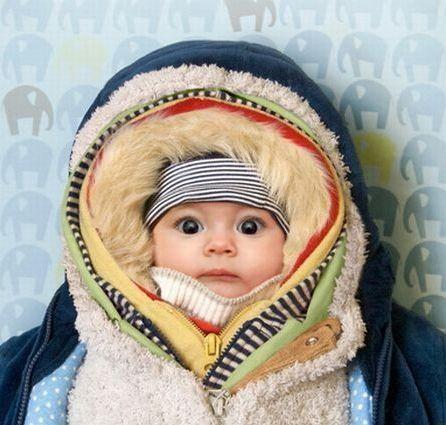 kid bundled up in christmas story