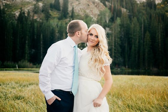 Happy WEDDING DAY...love the woods and trees in the bridal/groom photo shoot.
