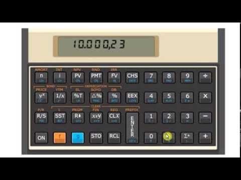 como calcular juros usando a calculadora hp12c passo a passo tv rh pinterest com HP 12C Tutorial hp 12c manual change decimal
