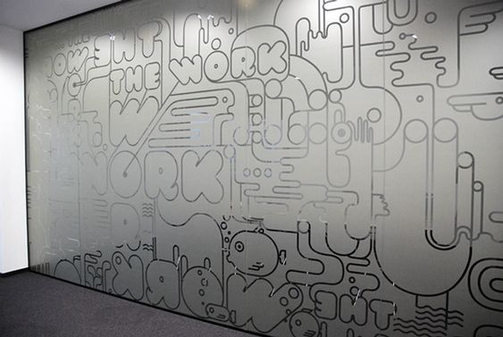 Graffiti BBDO office