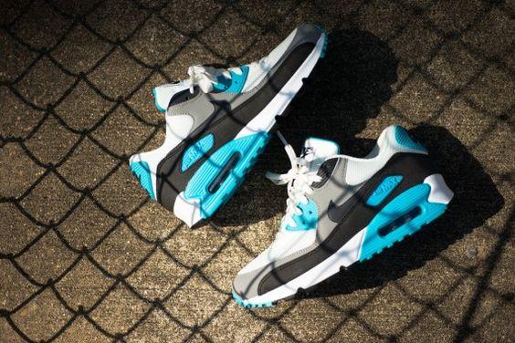 air max 90 solar blue