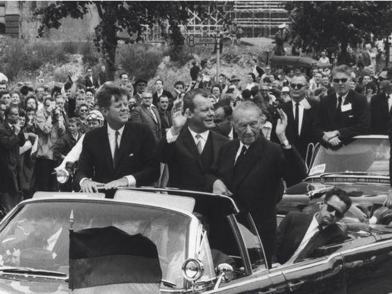 Ulrich Mack: Kennedy in Berlin.   Freundeskreis Willy-Brandt-Haus-e.V.