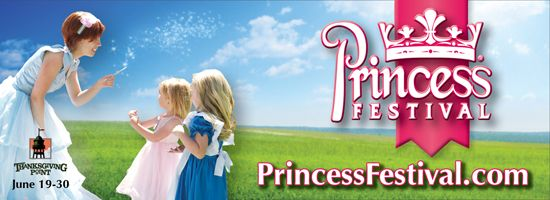 Thanksgiving Point Princess Festival | June 19-30 (closed Sundays and Mondays)