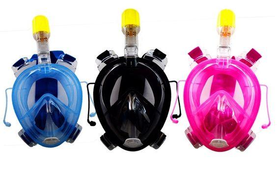 2016 новое поступление легко дыхание полный сухой маска подводное плавание оборудование плавательные очки водные виды спорта купить на AliExpress