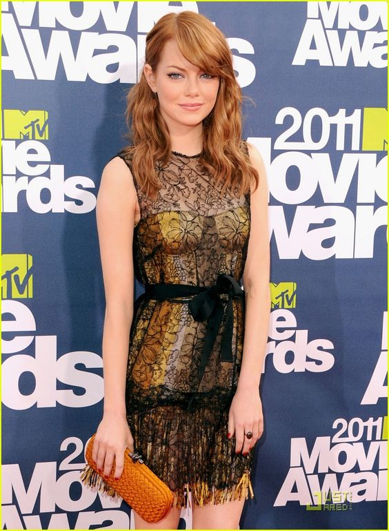 Emma Stone - MTV Movie Awards 2011 Red Carpet