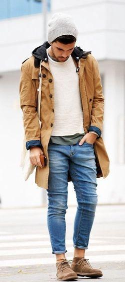 Un gorro y un buen abrigo para que el frío no te detenga  #EstiloTriples