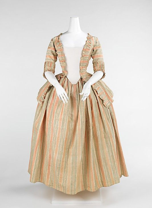 Caracao jacket & matching petticoat - front view (ca. 1775 ...