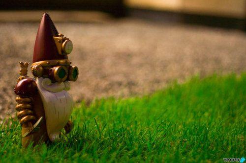 Steampunk Garden Gnome