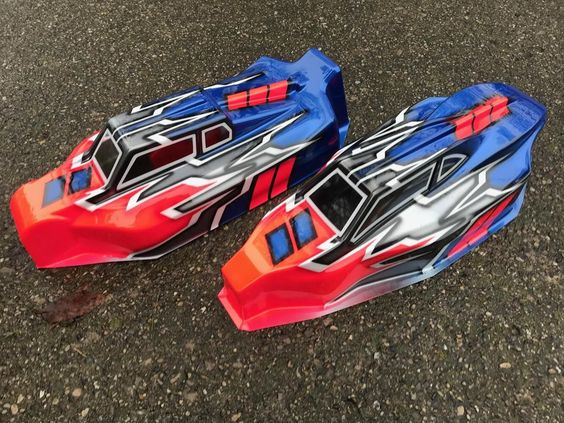 Yokomo Yz4 Sf And Yz2 Dtm Used Once R C Tech Forums Rc Car Bodies Motorbike Helmet Car Painting