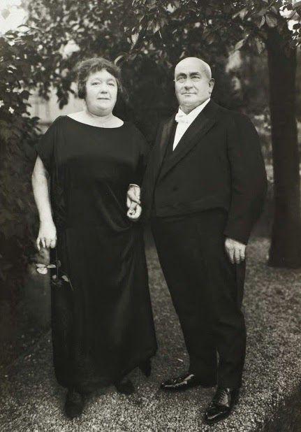 Granjero y su mujer 1924 August Sander