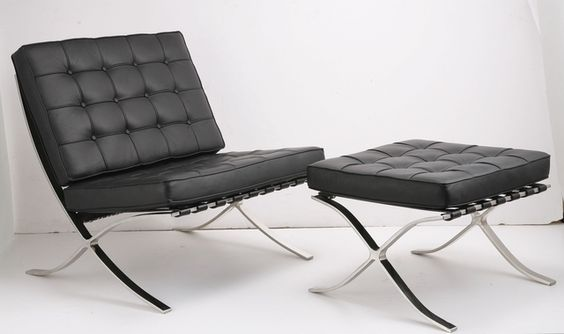I need to try one of these,  I may need one.  Google Image Result for http://upload.wikimedia.org/wikipedia/en/d/db/Mies-Barcelona-Chair-and-Ottoman.jpg