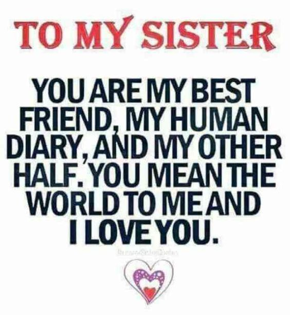 20 Quotes To Thank Your Sister For Having Your Back Through Thick And Thin Sister Quotes Funny Little Sister Quotes Sister Quotes