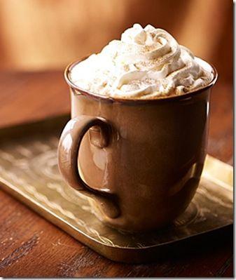 Fall in a Cup!  Pumpkin Spice Latte - Sbucks style!