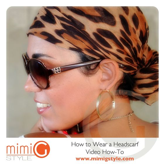 How To Video: Putting On A Headscarf |Fashion, Lifestyle, and DIY