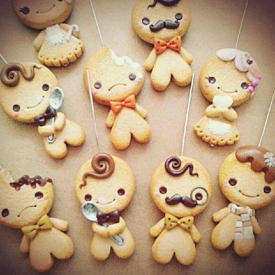 #gingerbread #fimo #kawaii