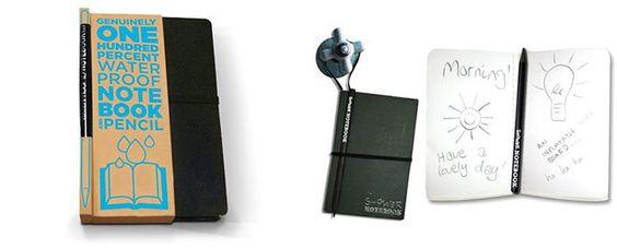 Waterproof Shower Notebook