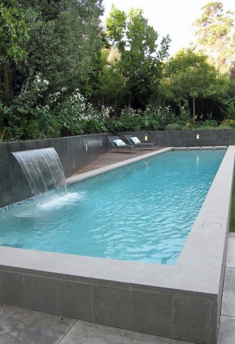 Spectacular Abends am eigenen Pool entspannen u so kann das aussehen pool gartenpool Gartenpools von POOLSANA Pinterest Gardens Backyard and Outdoor projects